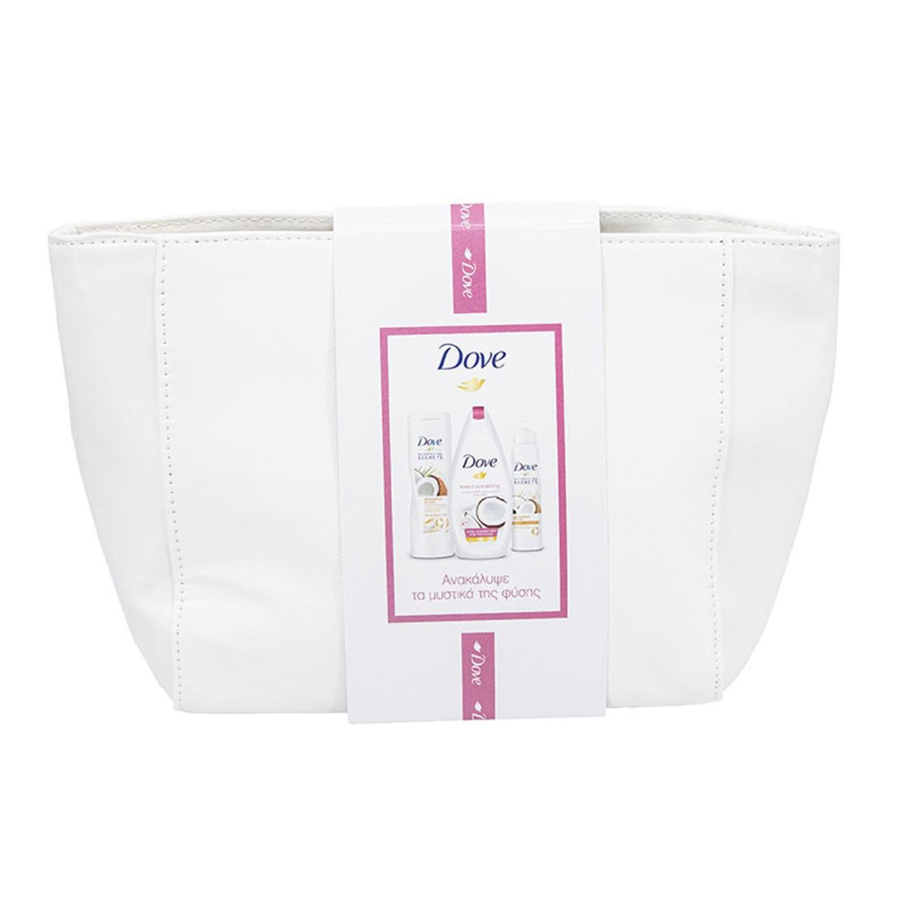 Dove Promo Purely Pampering Cocon Body Wash 250ml,Body Lotion 250ml,Anti-Transpirant 150ml Σειρά Περιποίησης Σώματος & Νεσεσέρ