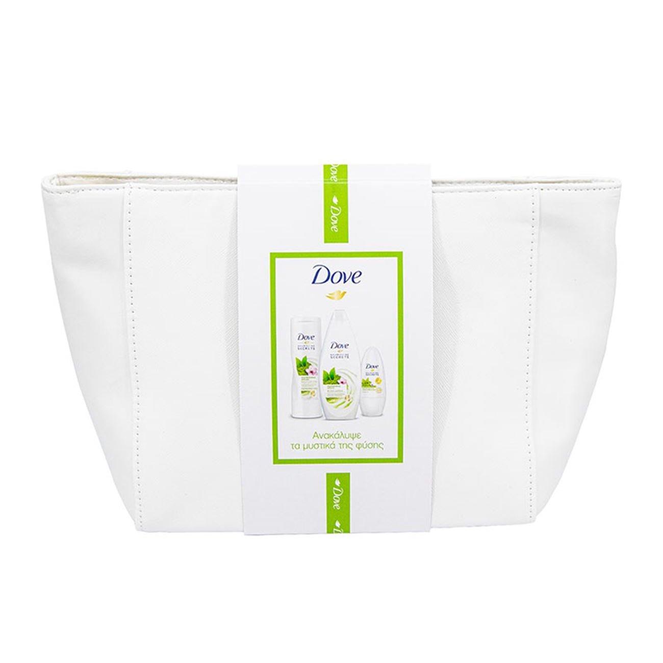 Dove Promo Nourishing Secrets Matcha Body Wash 250ml,Body Lotion 250ml,Anti-Transpirant 50ml Σειρά Περιποίησης Σώματος & Νεσεσέρ