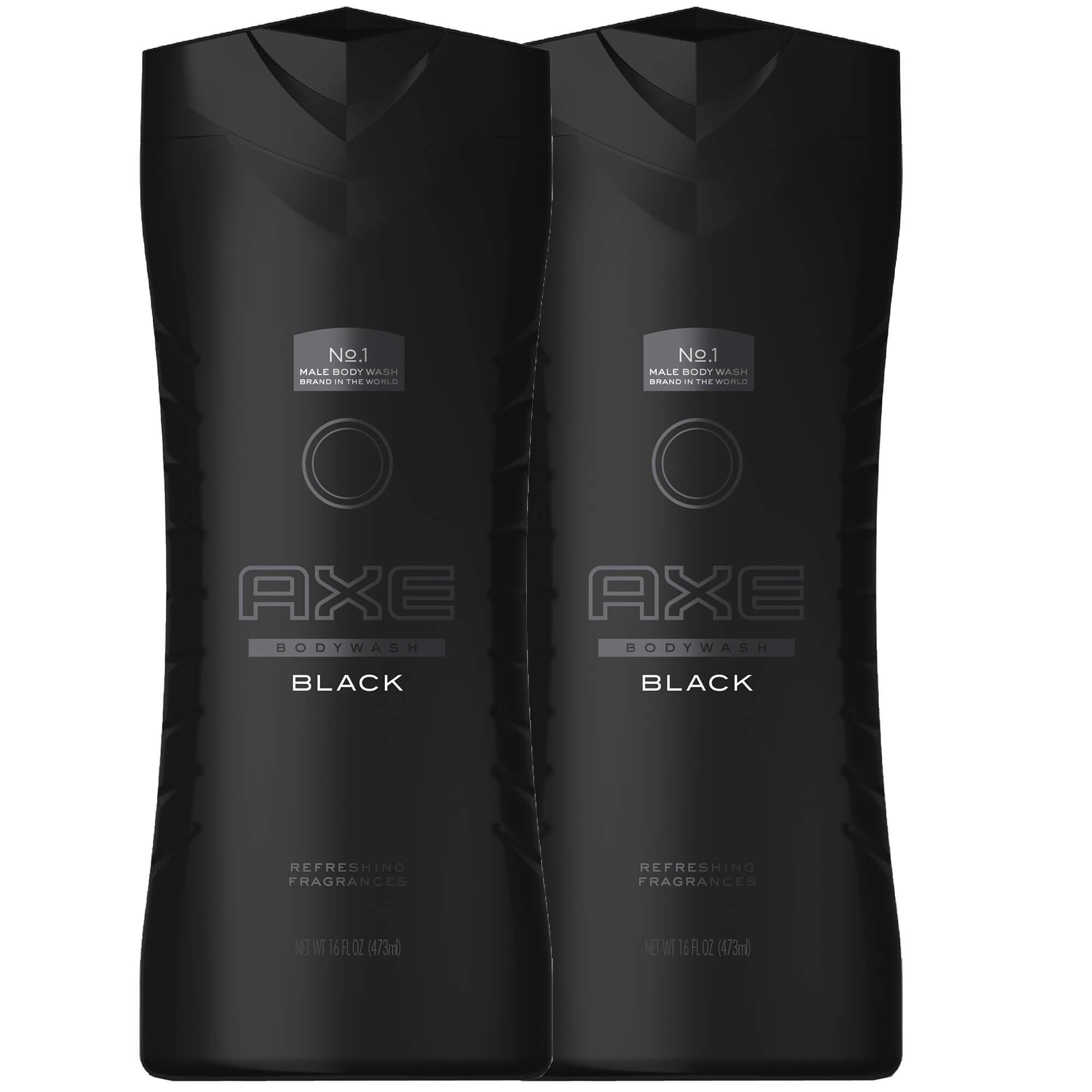 Axe Πακέτο Προσφοράς Black Body Wash XL, Αναζωογονητικό Αφρόλουτρο 2x400ml 1+1 Δ ομορφιά   ανδρική φροντίδα προσώπου   σώματος   καθαρισμός για τον άνδρα