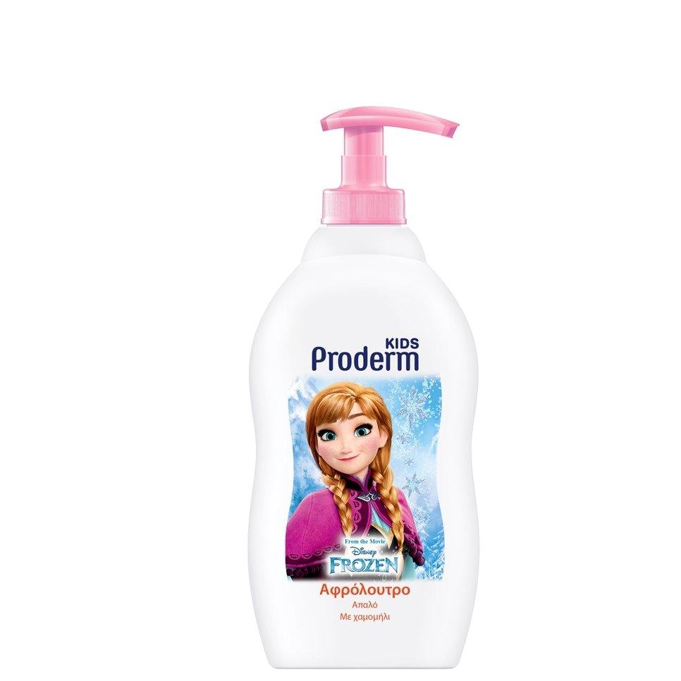 Proderm Frozen Kids Αφρόλουτρο για Κορίτσια Με Εκχύλισμα Χαμομηλιού 400ml