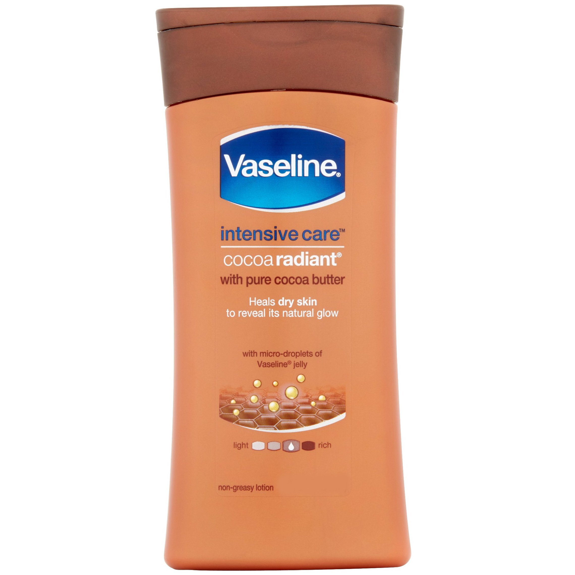 Vaseline Intensive Care Cocoa Radiant Lotion Θρεπτική Λοσιόν Σώματος με Βούτυρο Καρύδας 200ml