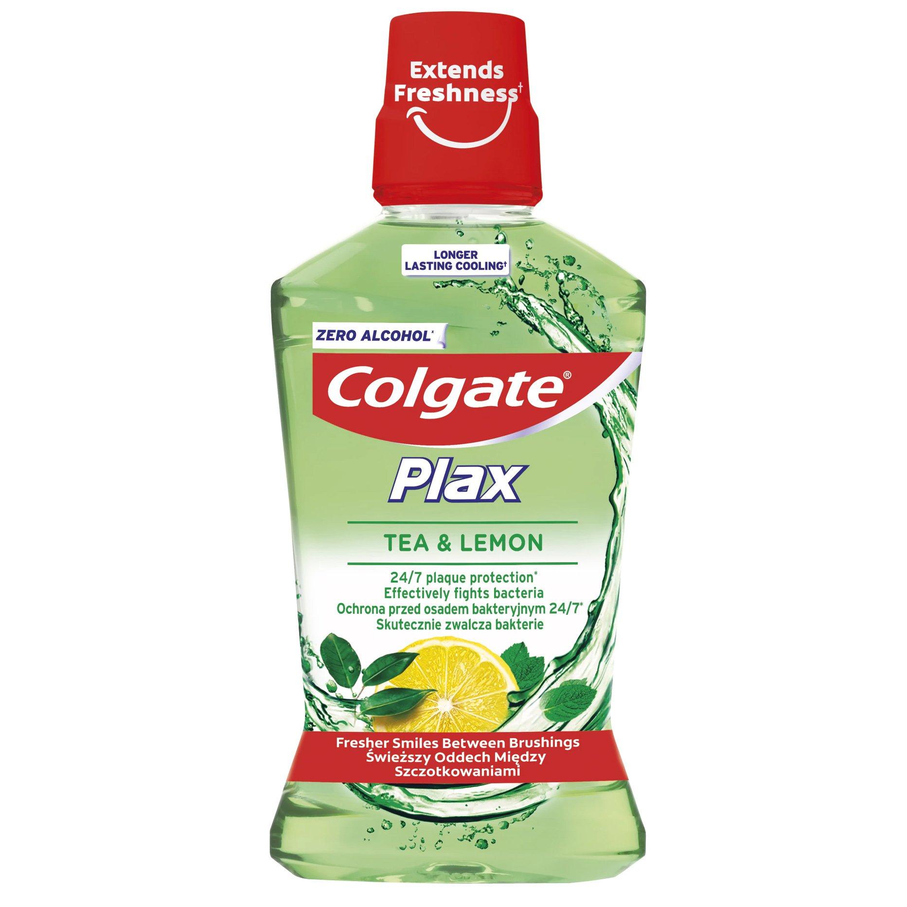 Colgate Plax Tea & Lemon 24/7 Plaque Protection Στοματικό Διάλυμα με Τσάι & Λεμόνι για Προστασία Από την Πλάκα, τα Βακτήρια