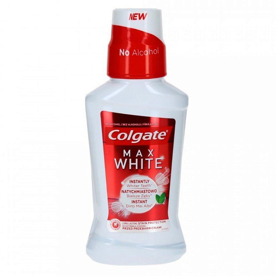 Colgate Colgate Max White Στοματικό Διάλυμα με Γεύση Μέντα 250ml