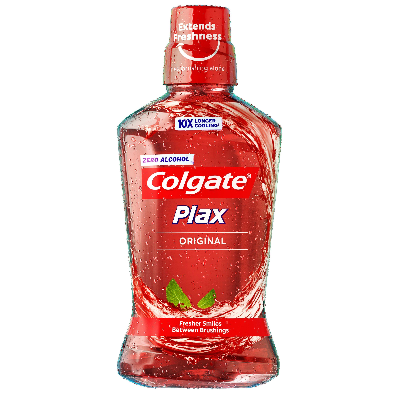 Colgate Plax Original Ήπιο Αντισηπτικό Στοματικό Διάλυμα με Φρεσκάδα που Διαρκεί 10 Φορές Περισσότερο 500ml