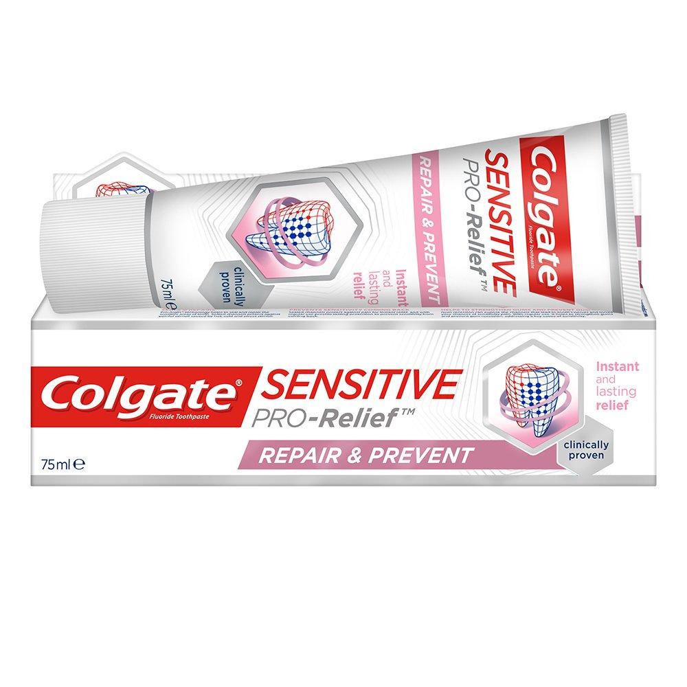 Colgate Sensitive PRO-Relief Repair & Prevent Οδοντόκρεμα για Άμεση Ανακούφιση των Ευαίσθητων Δοντιών 75ml