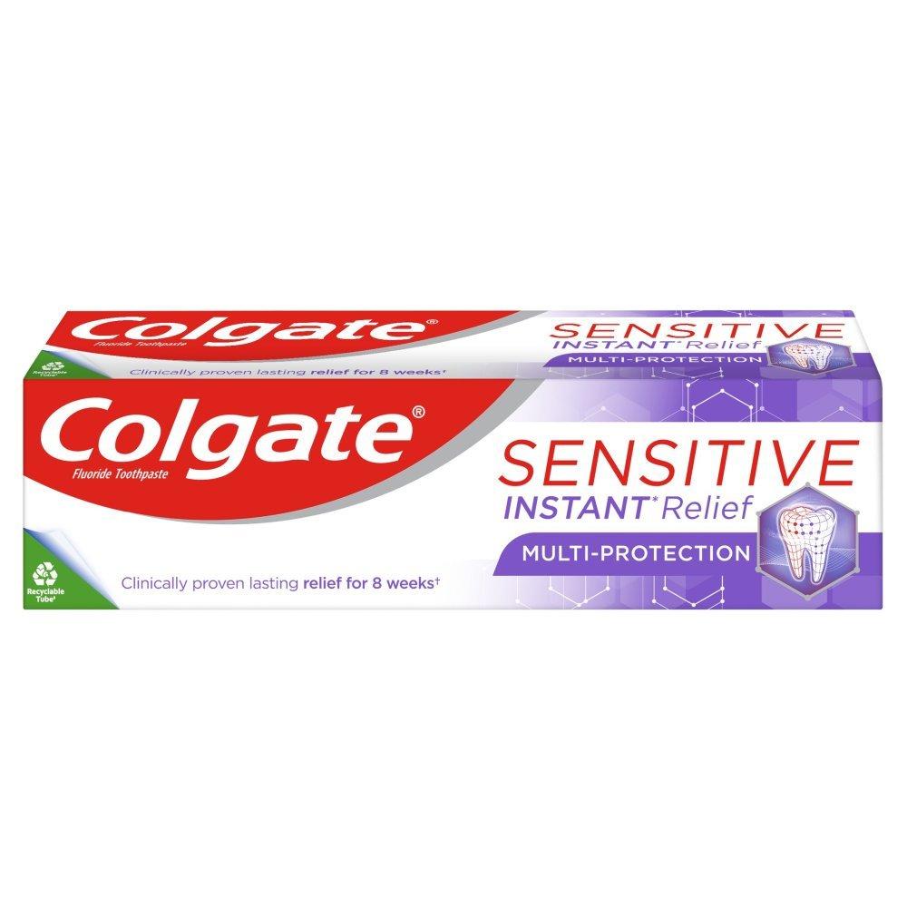 Colgate Sensitive Instant Relief Multi-Protection Οδοντόκρεμα για Ανακούφιση Από τον Πόνο της Ευαισθησίας των Δοντιών 75ml