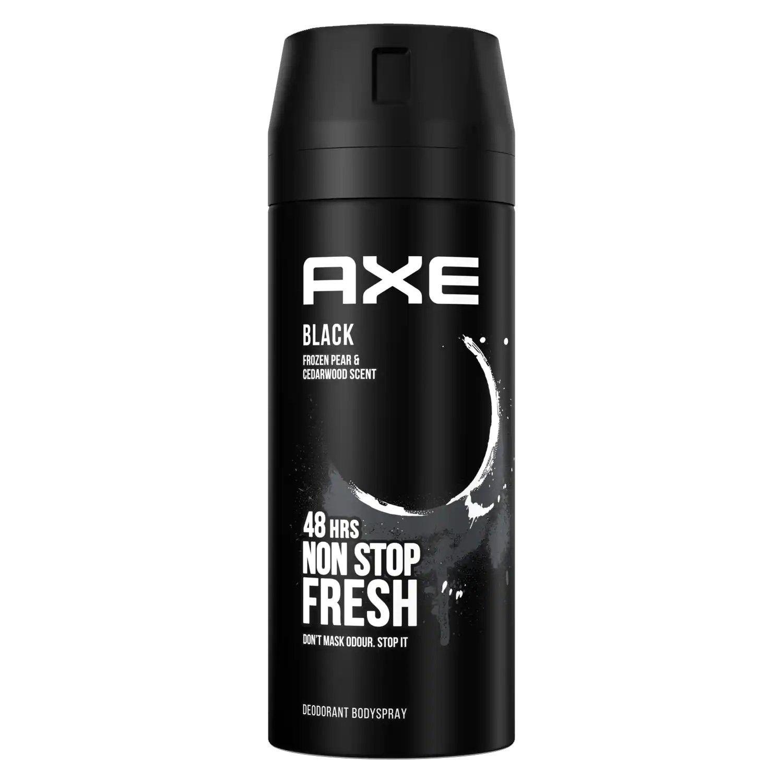 Axe Black Body Spray Αποσμητικό 48ωρης Φρεσκάδας με Ακαταμάχητο Άρωμα 150ml