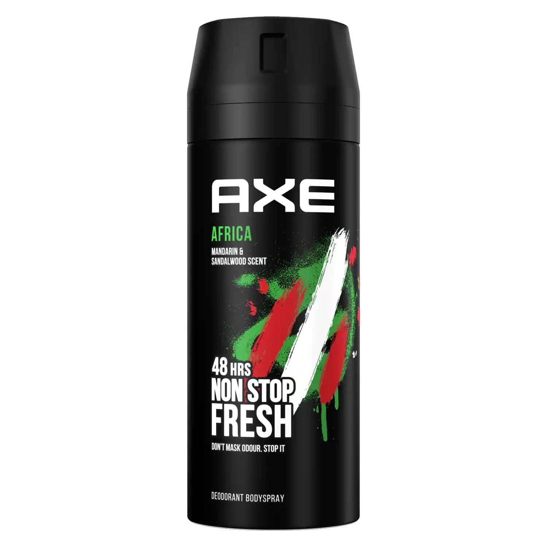 Axe Africa Body Spray Αποσμητικό 48ωρης Φρεσκάδας με Ανατολίτικο, Αρρενωπό Άρωμα 150ml