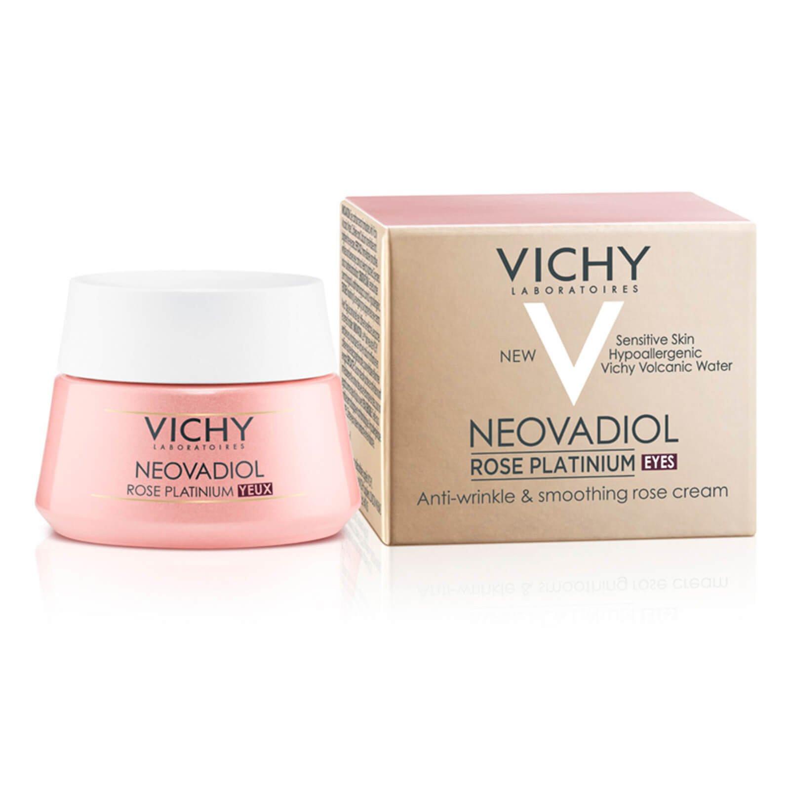 Vichy Neovadiol Rose Platinum Yeux Κρέμα Ματιών για Σακούλες & Ρυτίδες 15ml