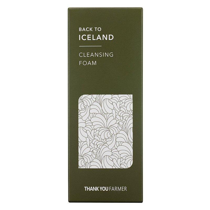 Thank You Farmer Back to Iceland Cleansing Foam Αφρός Καθαρισμού με Εκχύλισμα Πόας Από την Ισλανδία 120ml