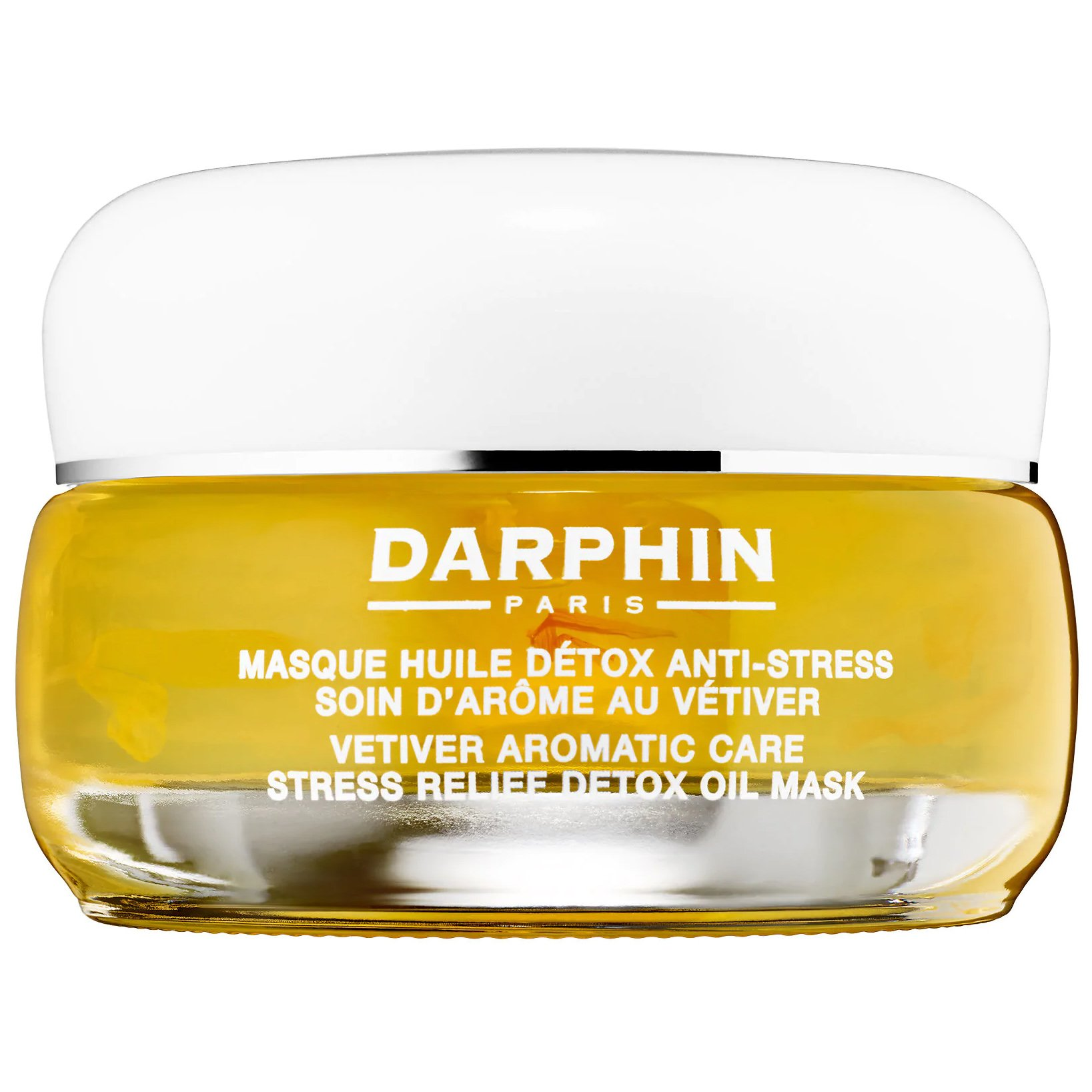 Darphin Essential Oil Elixir Vetiver Aromatic Care Stress Relief Dedox Oil Mask Μάσκα Αποτοξίνωσης με Χαλαρωτικές Ιδιότητες 50ml