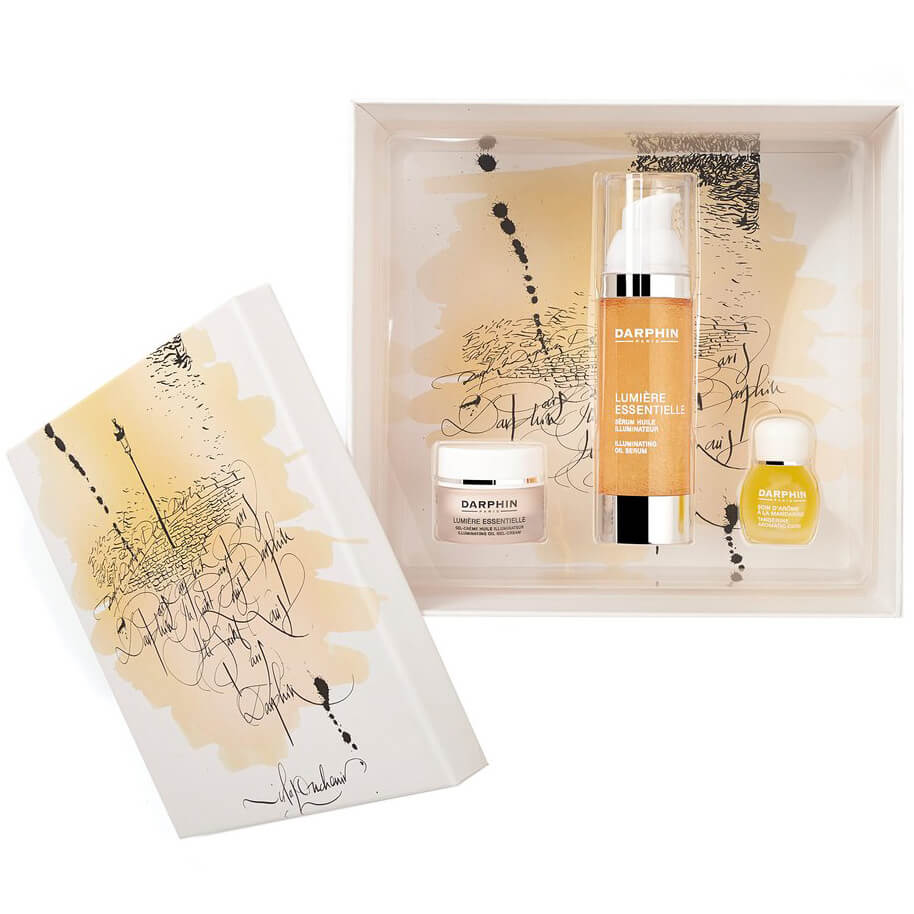 Darphin La Ville Lumiere Holiday Set Lumiere Essentielle Serum 30ml & Lumiere Essentielle Gel-Cream 5ml & Tangerine Elixir 4ml