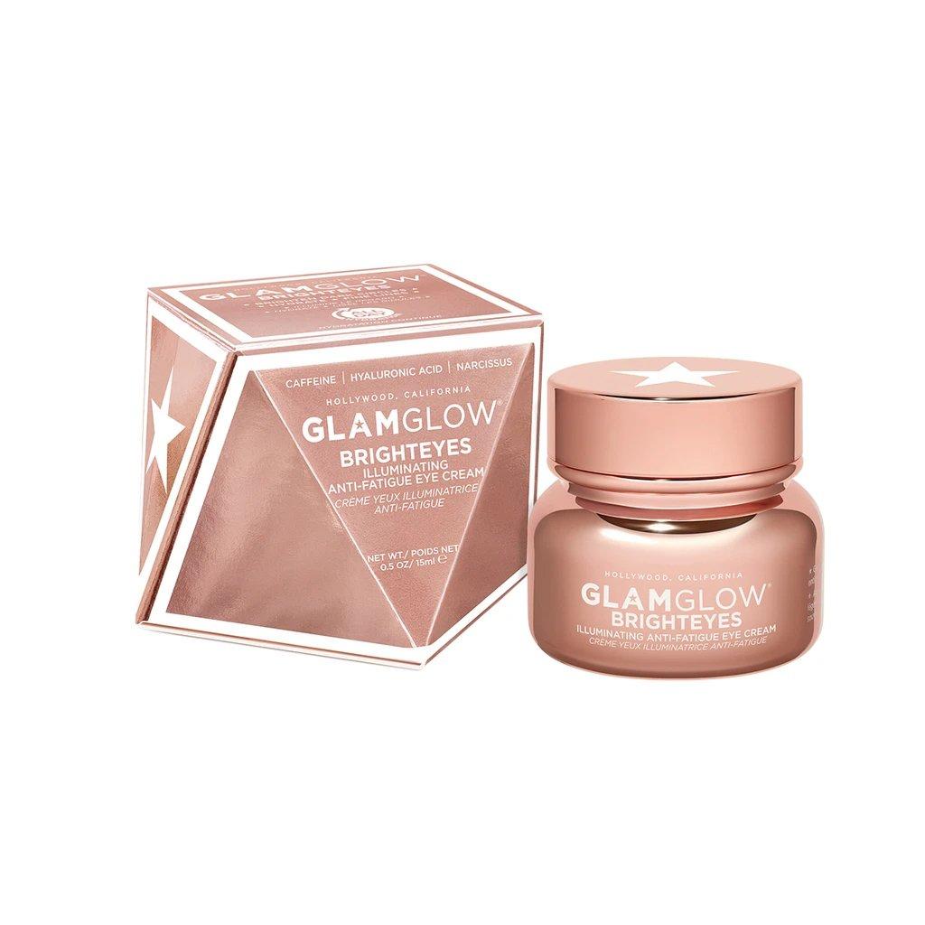 Glamglow Brighteyes Anti-Fatigue Eye Cream Φωτίζει τους Μαύρους Κύκλους & Μειώνει τα Ορατά Σημάδια Κόπωσης 15ml