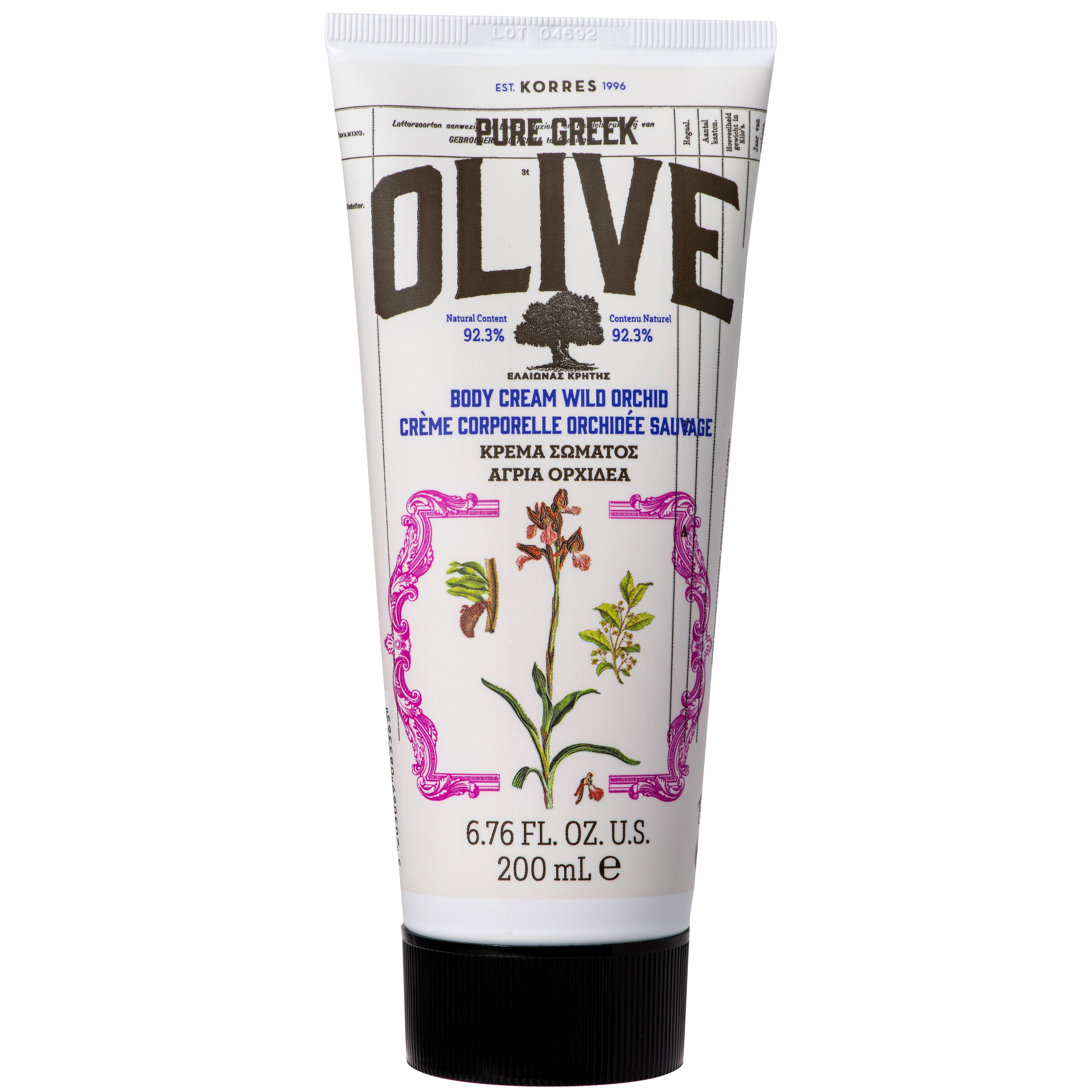 Korres Pure Greek Olive Body Cream Wild Orchid Κρέμα Σώματος με Άγρια Ορχιδέα 200ml