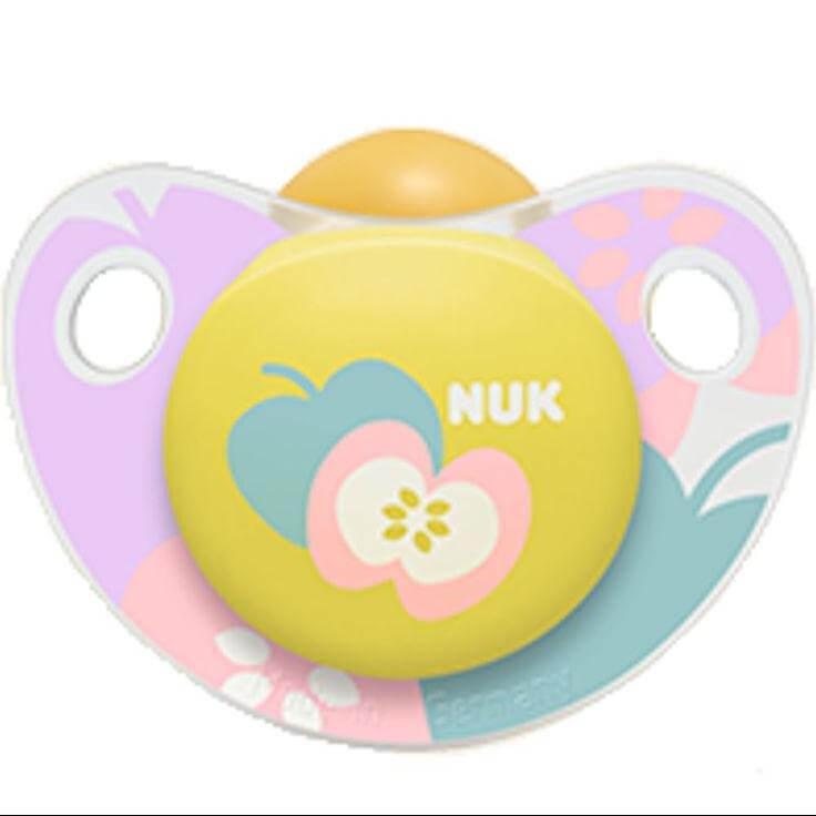 Nuk Trendline Adore Πιπίλα Καουτσούκ Χωρίς BPA – Μέγεθος 2 (6-18 μηνών)