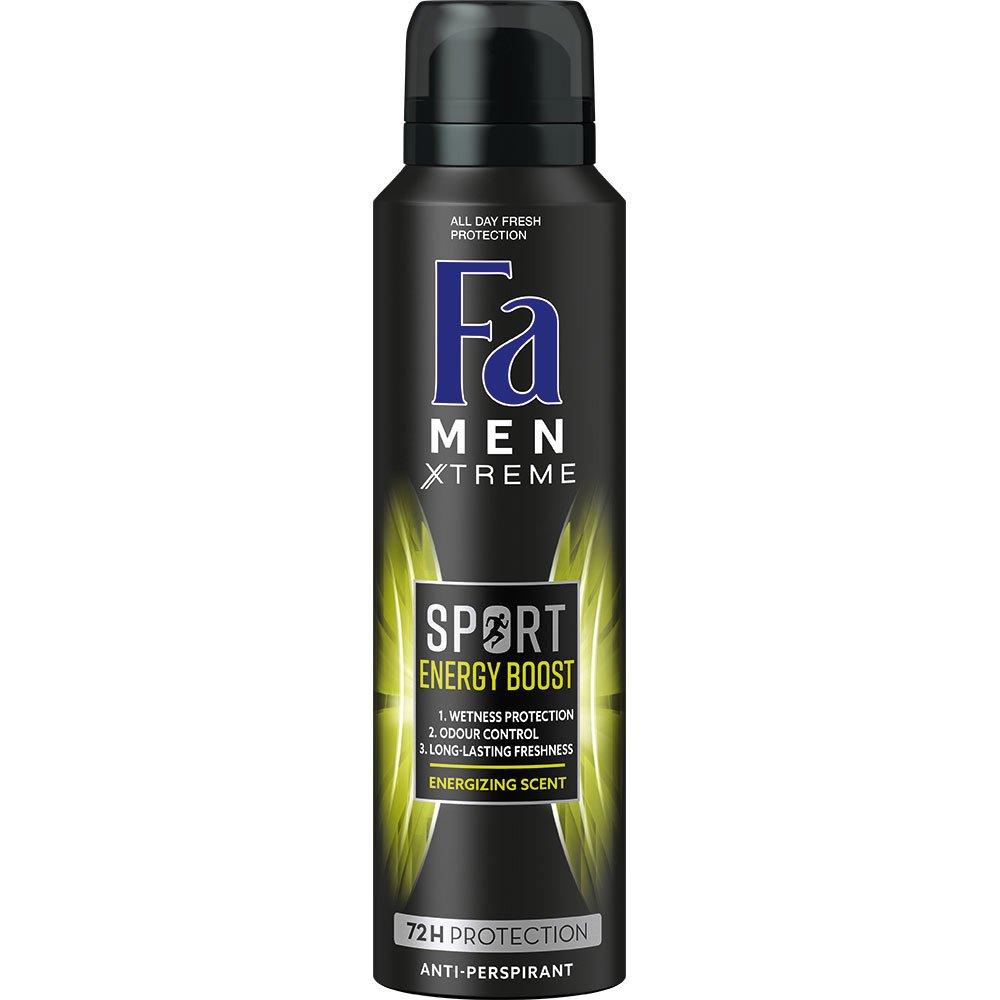 Fa Men Deodorant Spray Sport Energy Boost Ανδρικό Αποσμητικό για Μέγιστη Φρεσκάδα & Άρωμα Μεγάλης Διάρκειας 150ml