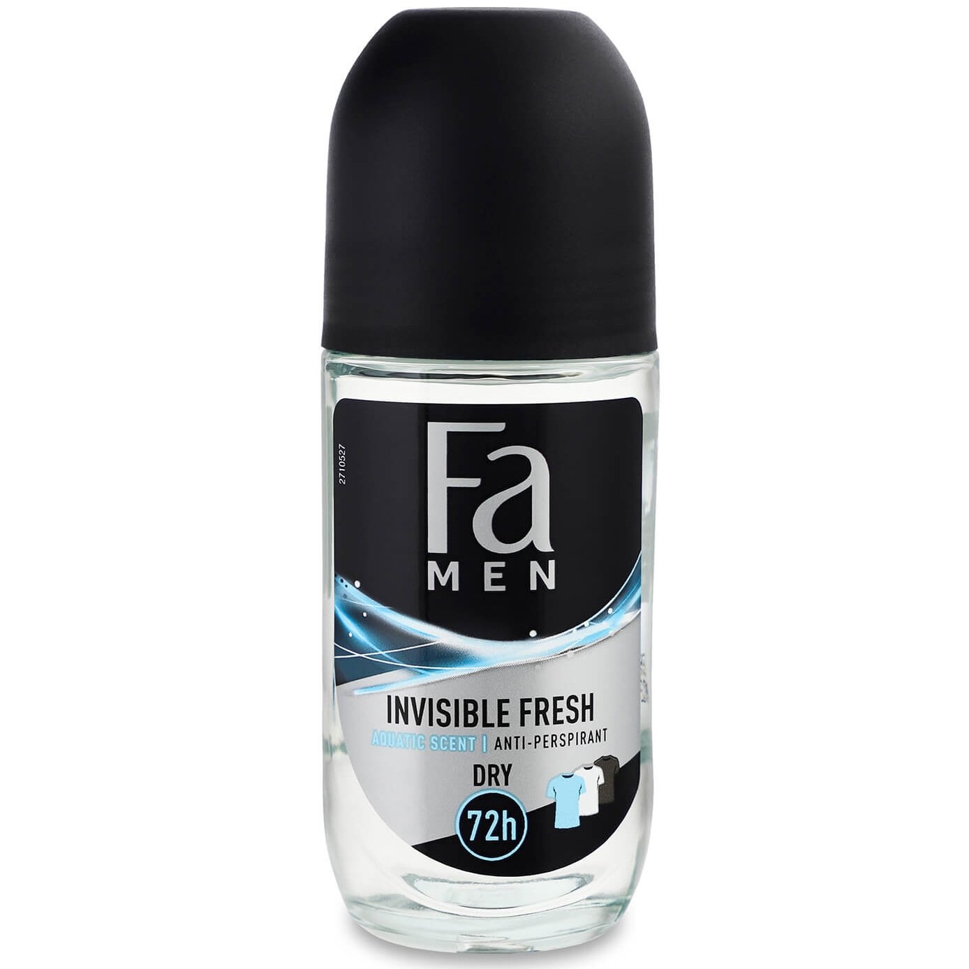 Fa Men Invisible Fresh Anti Persprirant Roll on Deo 72h Protection Ανδρικό Αποσμητικό Προστασίας με Άρωμα Φρεσκάδας 50ml