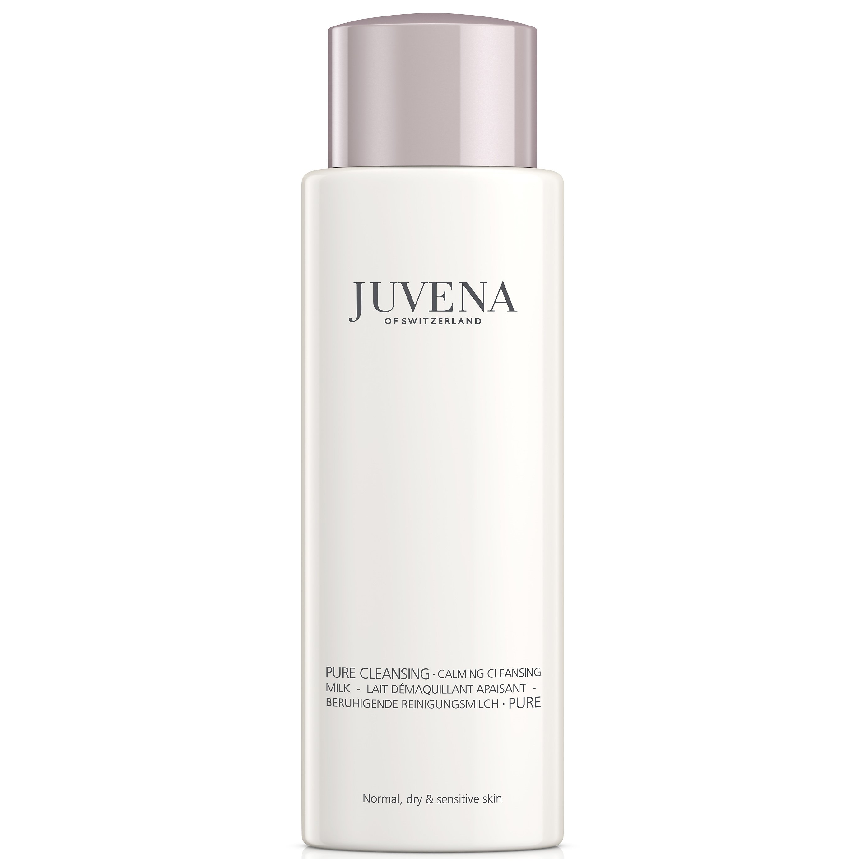 Juvena Pure Cleansing Calming Cleansing Milk Καταπραϋντικό Γαλάκτωμα Καθαρισμού για Κανονικές Ξηρές Ευαίσθητες Επιδερμίδες 200ml