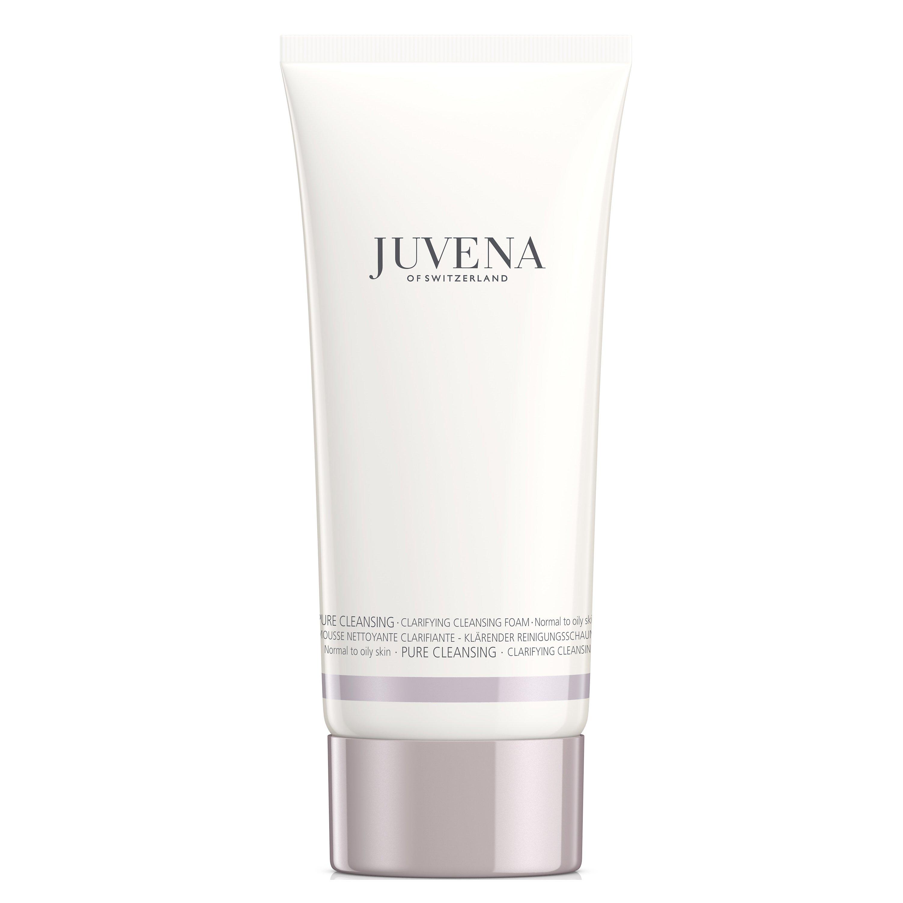 Juvena Pure Cleansing Clarifying Cleansing Foam Εξυγιαντικός Αφρός Καθαρισμού για Κανονικές Λιπαρές Επιδερμίδες 200ml