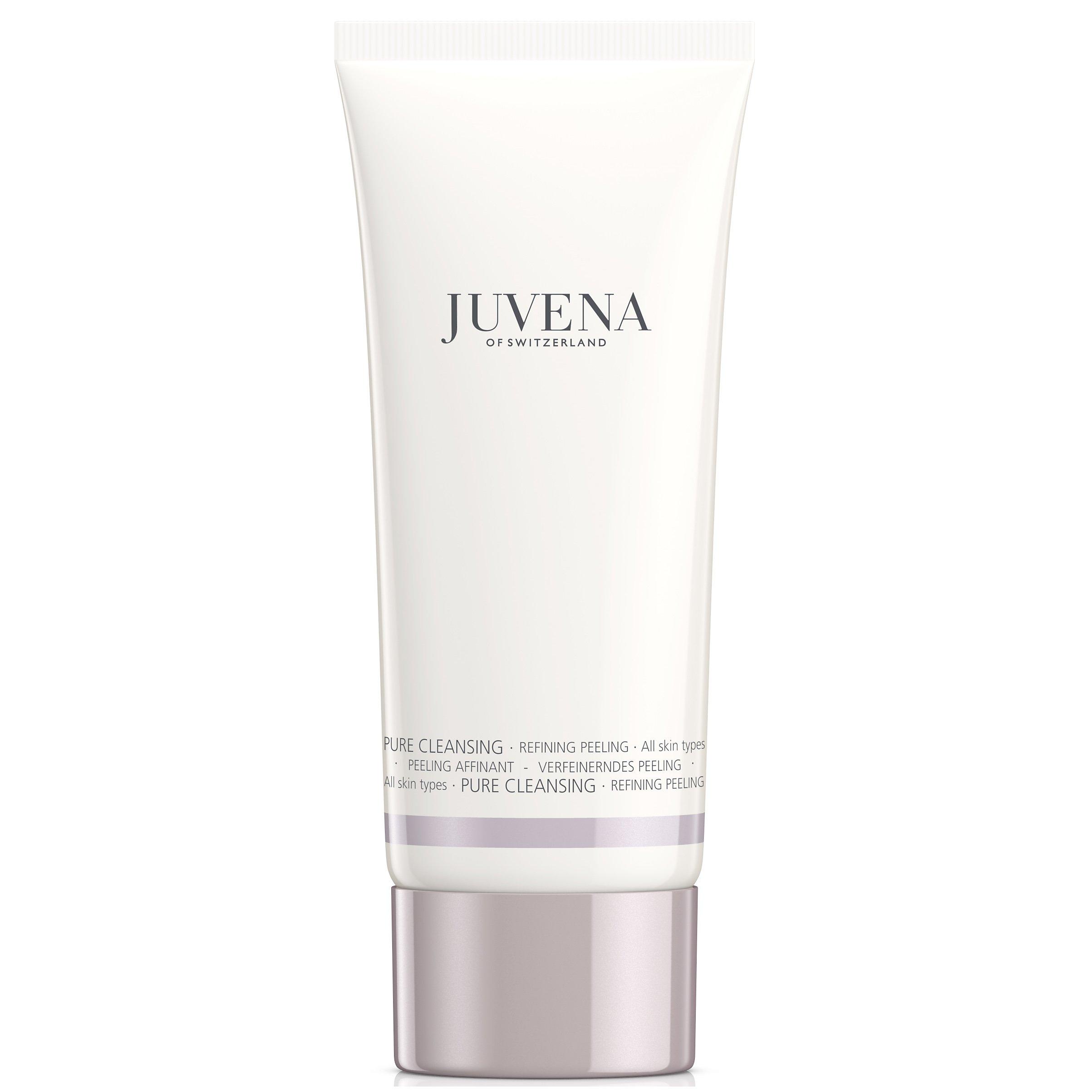 Juvena Pure Cleansing Refining Peeling Κρέμα Απολέπισης Προσώπου για Ομοιόμορφο & Λαμπερό Δέρμα, Όλοι οι Τύποι 100ml