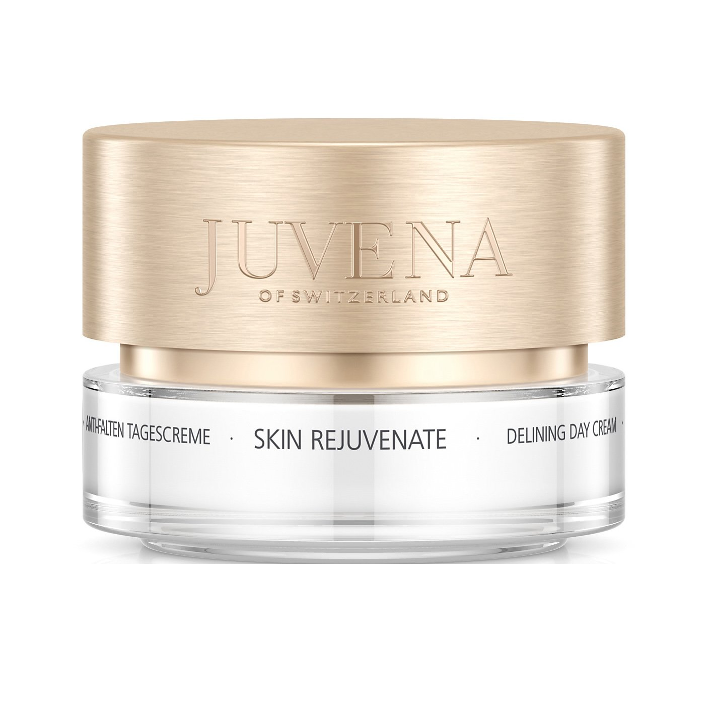 Juvena Skin Rejuvenate Delining Day Cream Normal to Dry Αντιγηραντική Κρέμα Ημέρας Ολικής Δράσης με Μεταξένια Υφή 50ml