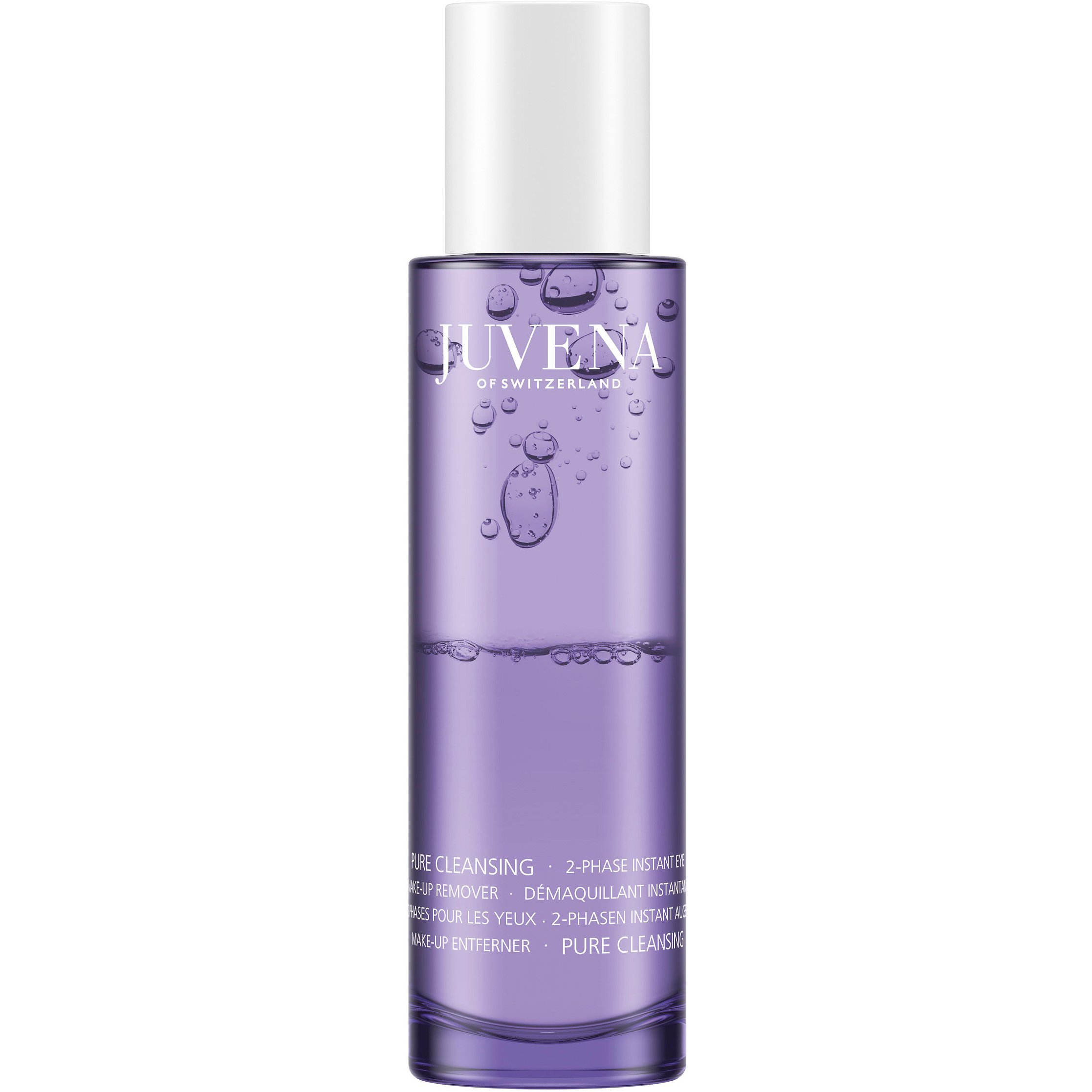 Juvena Pure Cleansing 2-Phase Instant Eye Make-Up Remover Διφασικό Ντεμακιγιάζ Ματιών με Πανθενόλη & Υαλουρονικό Οξύ 100ml