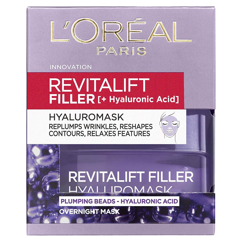L'oreal Paris Revitalift Filler Hyaluromask Αντιγηραντική Μάσκα Νύχτας, 50ml