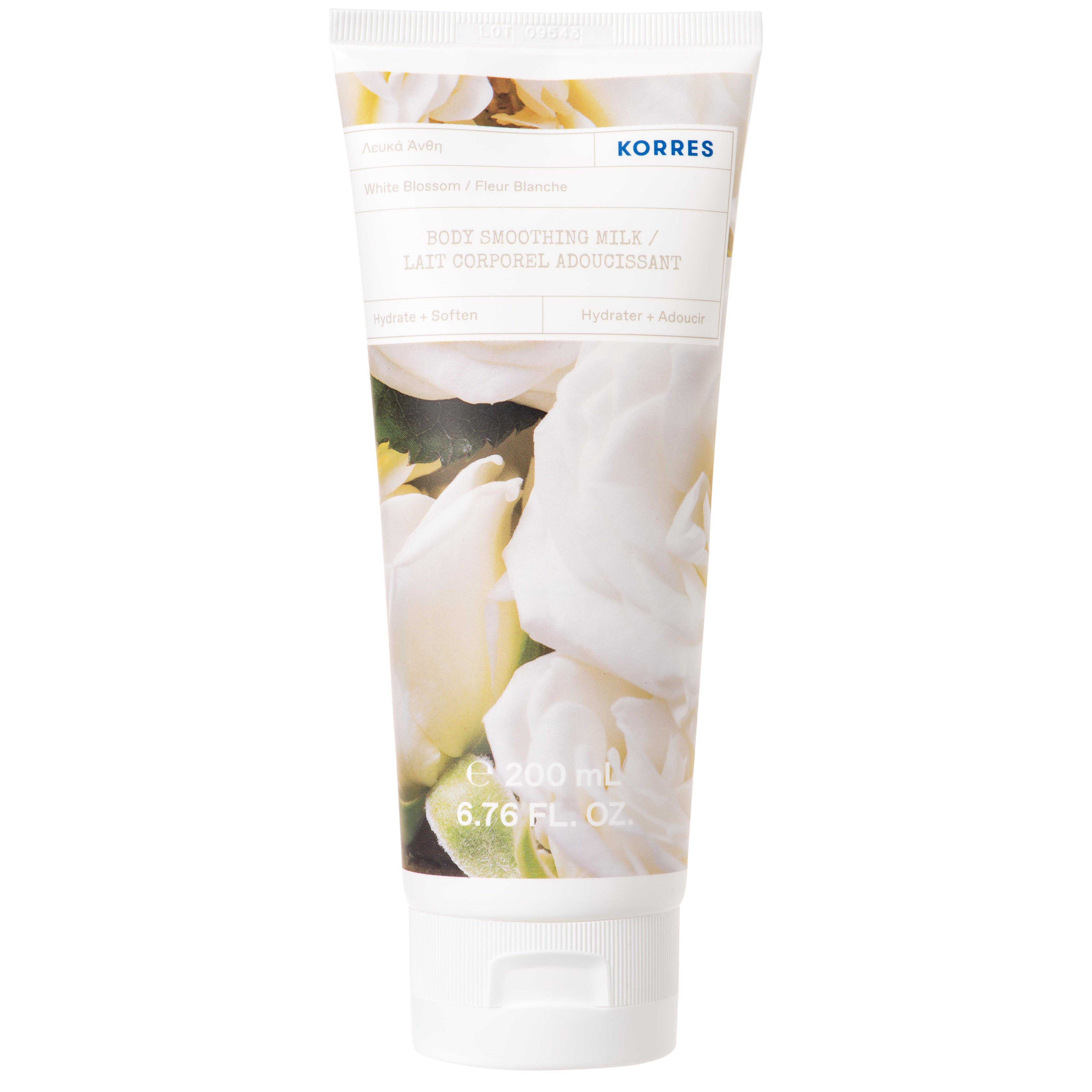 Korres White Blossom Body Smoothing Milk Ενυδατικό Γαλάκτωμα Σώματος Λευκά Άνθη 200ml