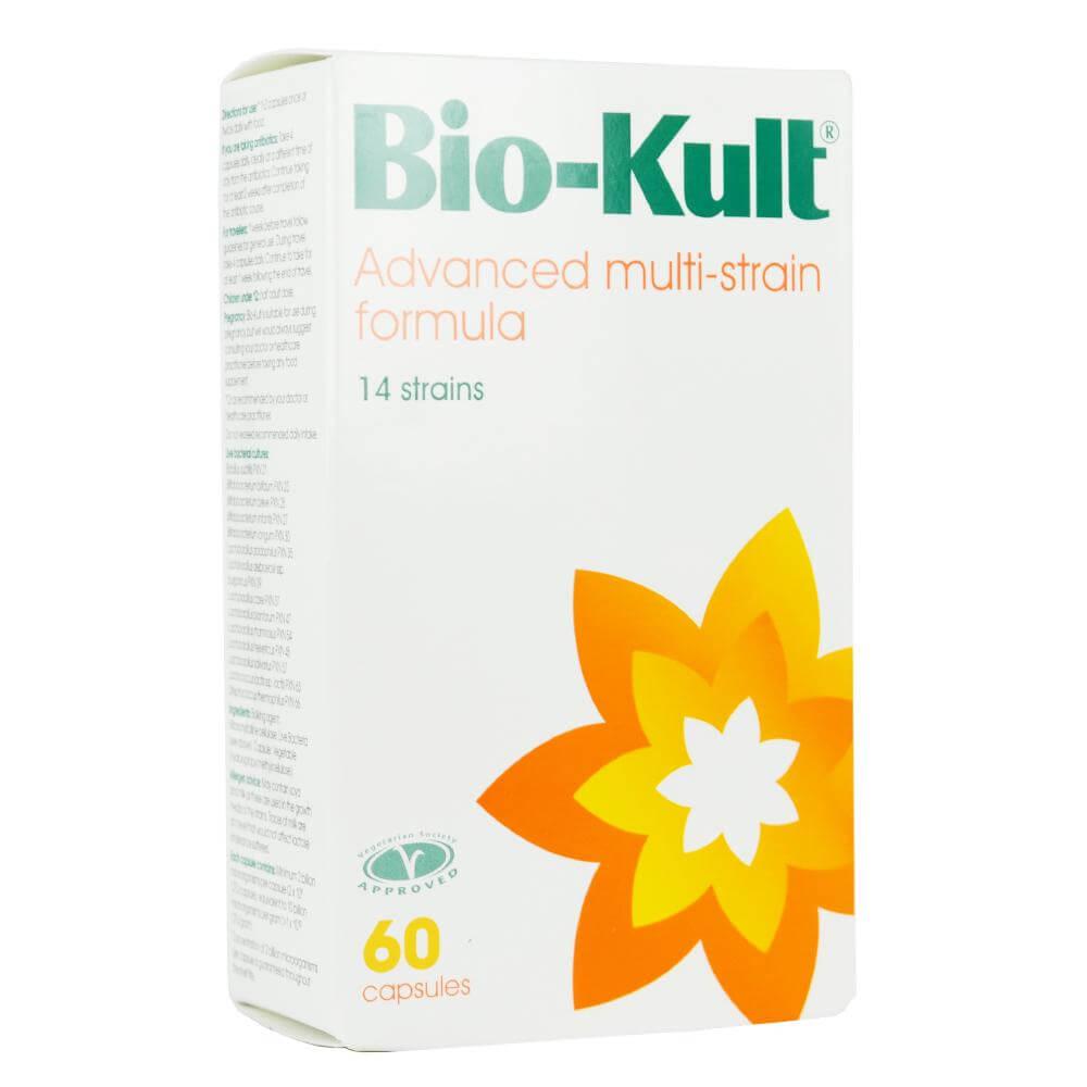 Bio-Kult Advanced Multi-Strain Formula Προβιοτικό Συμπλήρωμα για την Υγεία του Γαστρεντερικού Με 14 Είδη Φιλικών Βακτηρίων 60cap