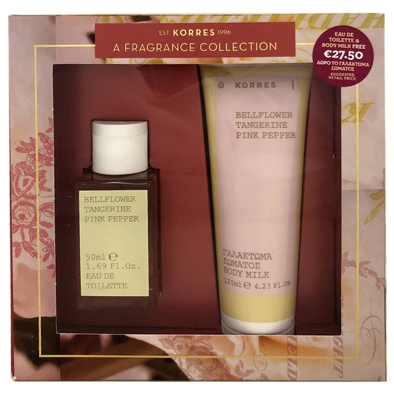 Korres Gift Set Eau De Toilette Γυναικείο Άρωμα Bellflower Pink Pepper 50ml & ΔΩ ομορφιά   αρώματα   αρώματα για τη γυναίκα