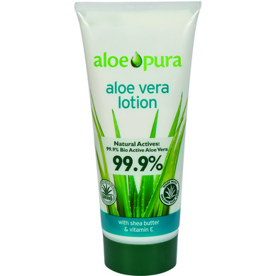 Optima Organic Aloe Vera Body Lotion 200ml