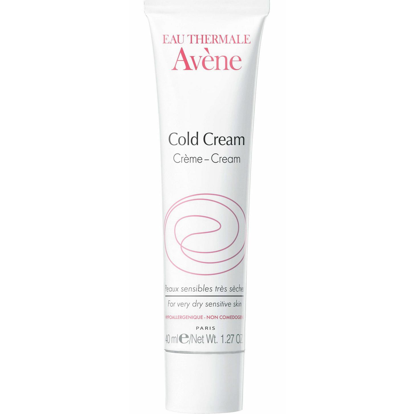 Avene Cold Cream Θεραπευτική Προστατευτική ΚρέμαΠροσώπου για Βρέφη, Παιδιά & Ενήλικες 40ml