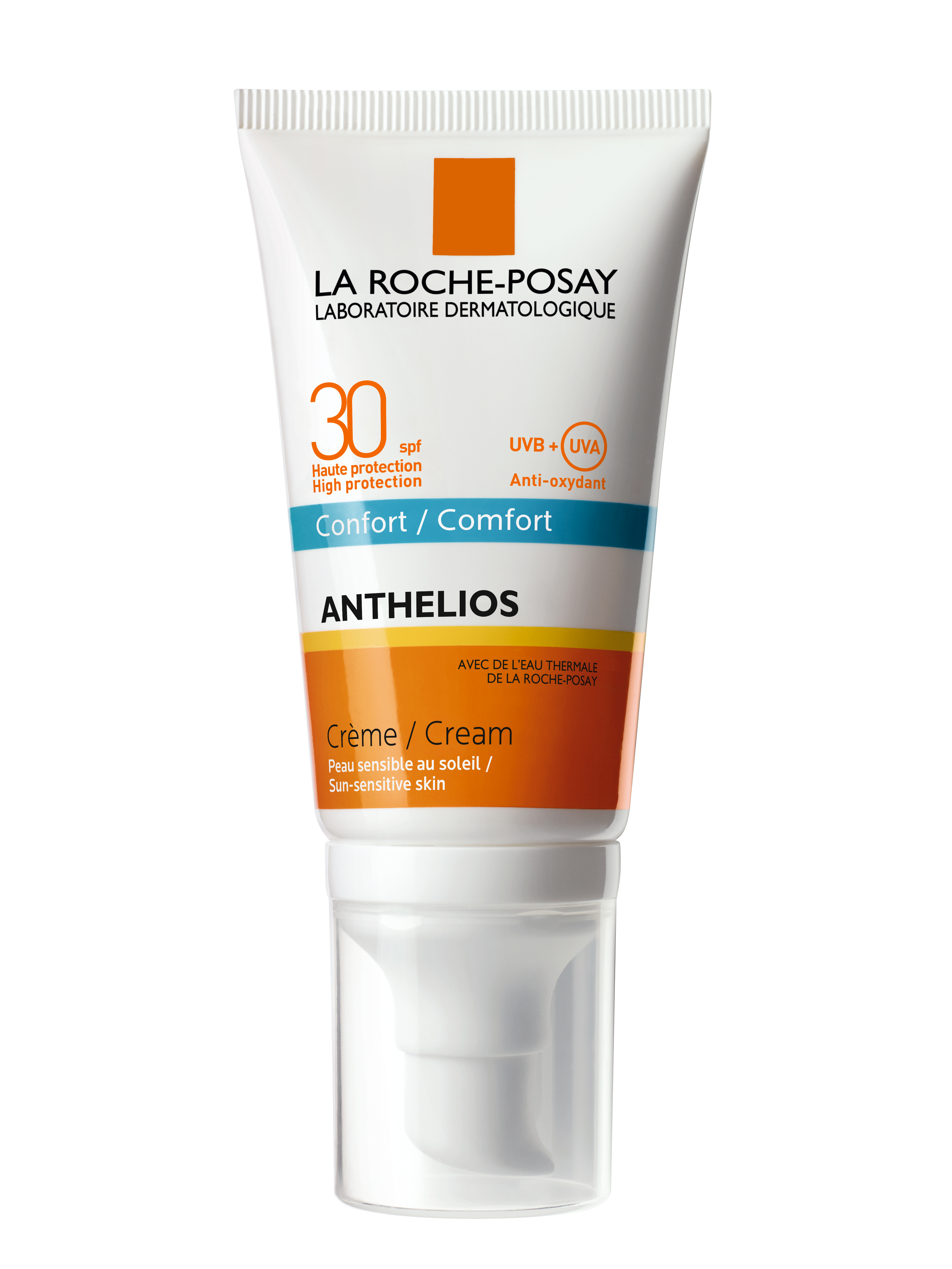 La Roche-Posay Anthelios XL Creme Comfort Spf30 Αντηλιακή Kρέμα Προσώπου για την Ευαίσθητη Επιδερμίδα 50ml