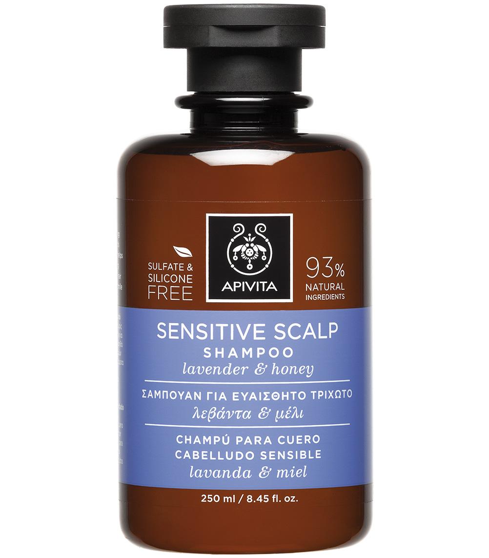 Apivita Sensitive Scalp Σαμπουάν για Ευαίσθητο Τριχωτό με Λεβάντα & Μέλι 250ml