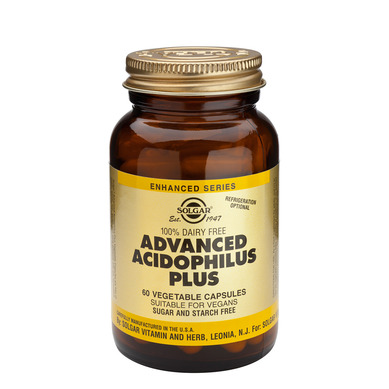 Solgar Advanced Acidophilus Plus veg caps  120 veg caps