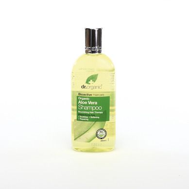Dr Organic Organic Aloe Vera Shampoo Σαμπουάν με Βιολογική Αλόη Βέρα 265ml