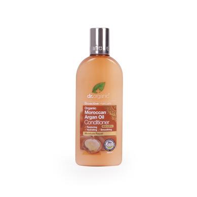 Dr Organic Organic Moroccan Argan Oil Conditioner Μαλακτική Κρέμα Μαλλιών με έλα υγιεινή   φροντίδα μαλλιών   μαλακτικά μάσκες ελιξίρια μαλλιών