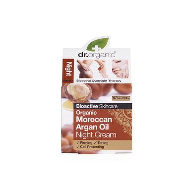 Dr Organic Organic Moroccan Argan Oil Night Cream Κρέμα Νύχτας με έλαιο Αργκάν 50ml