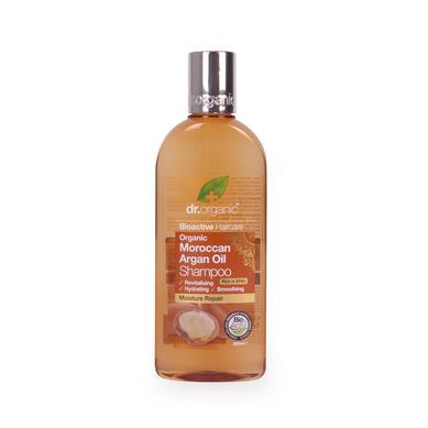 Dr Organic Organic Moroccan Argan Oil Shampoo Σαμπουάν με Βιολογικό Έλαιο Αργκάν 265ml