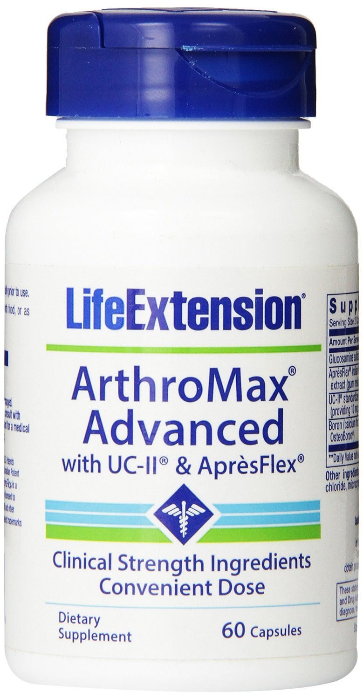 Life Extension ArthroMax Advanced With UC-II & AprèsFlex Συμπλήρωμα Διατροφής για τη Φυσιολογική Λειτουργία των Αρθρώσεων 60caps