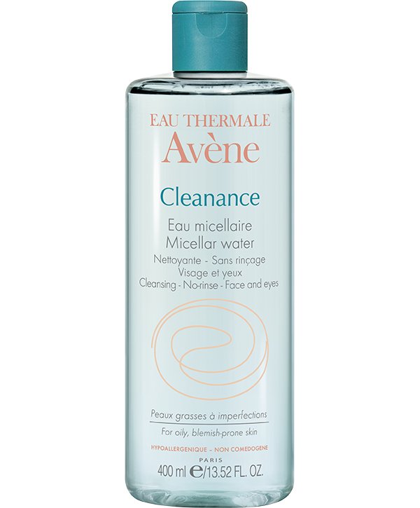 Avène Eau Thermale Cleanance Eau Micellaire Νερό Micellaire Για Τον Καθαρισμό Προσώπου & Ματιών Χωρίς Ξέπλυμα 400ml