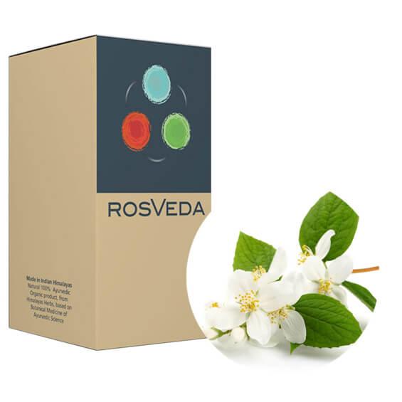Rosveda Pure Essential OilJasmine 100% Φυτική Σύνθεση Αιθέριο ΈλαιοΓιασεμί10ml