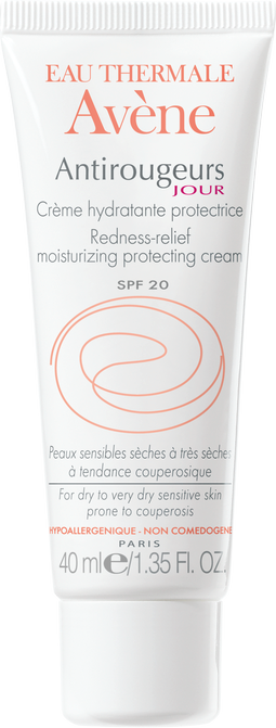 Avène Antirougeurs Creme Spf20 Προστατευτική Ενυδατική Κρέμα 40ml