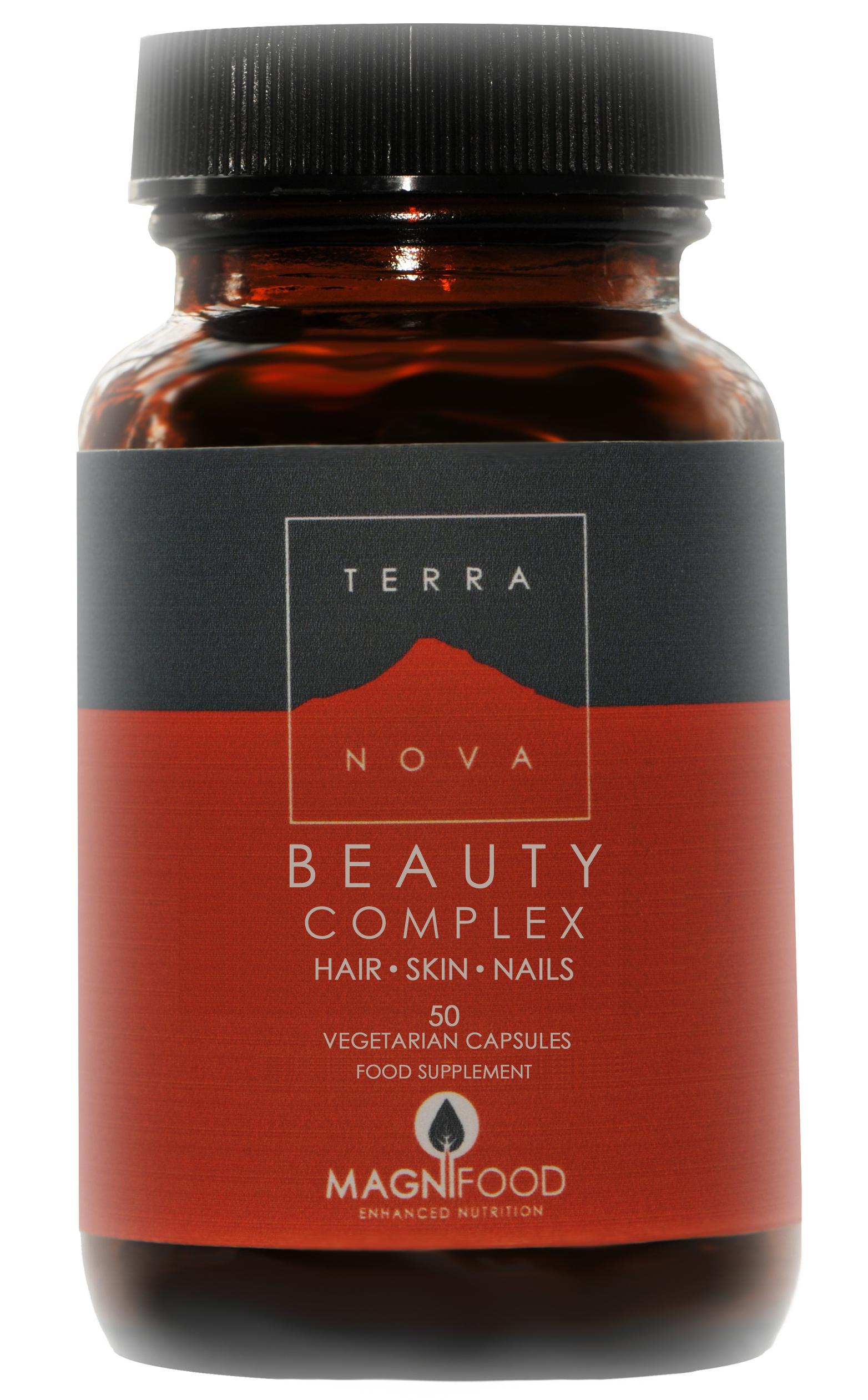 Terranova Beauty Complex Hair – Skin – Nails Ιδανική & Απόλυτα Φυσική Λύση για την Ενίσχυση της Ομορφιάς εκ των Έσω 50Caps