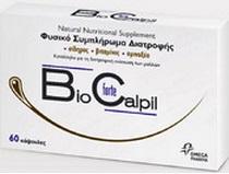 Biocalpil Forte Φυσικό συμπλήρωμα διατροφής για την υγεία των μαλλιών, το μόνο με σίδηρο 60caps