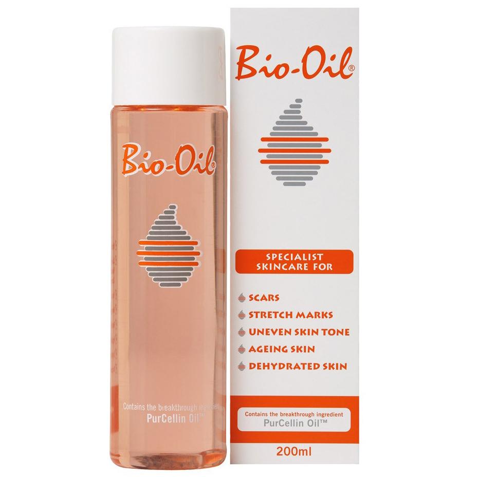 Bio-Oil Ειδική Περιποίηση για Ουλές Ραγάδες, Ανομοιόμορφη Χροιά Δέρματος, Πανάδες, Σημάδια Γήρανσης Αφυδατωμένη Επιδερμίδα 200ml