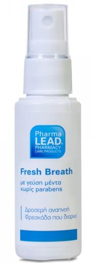 Pharmalead Fresh Breath Φυσικό Σπρέι Για Δροσερή Αναπνοή 30ml – Μέντα