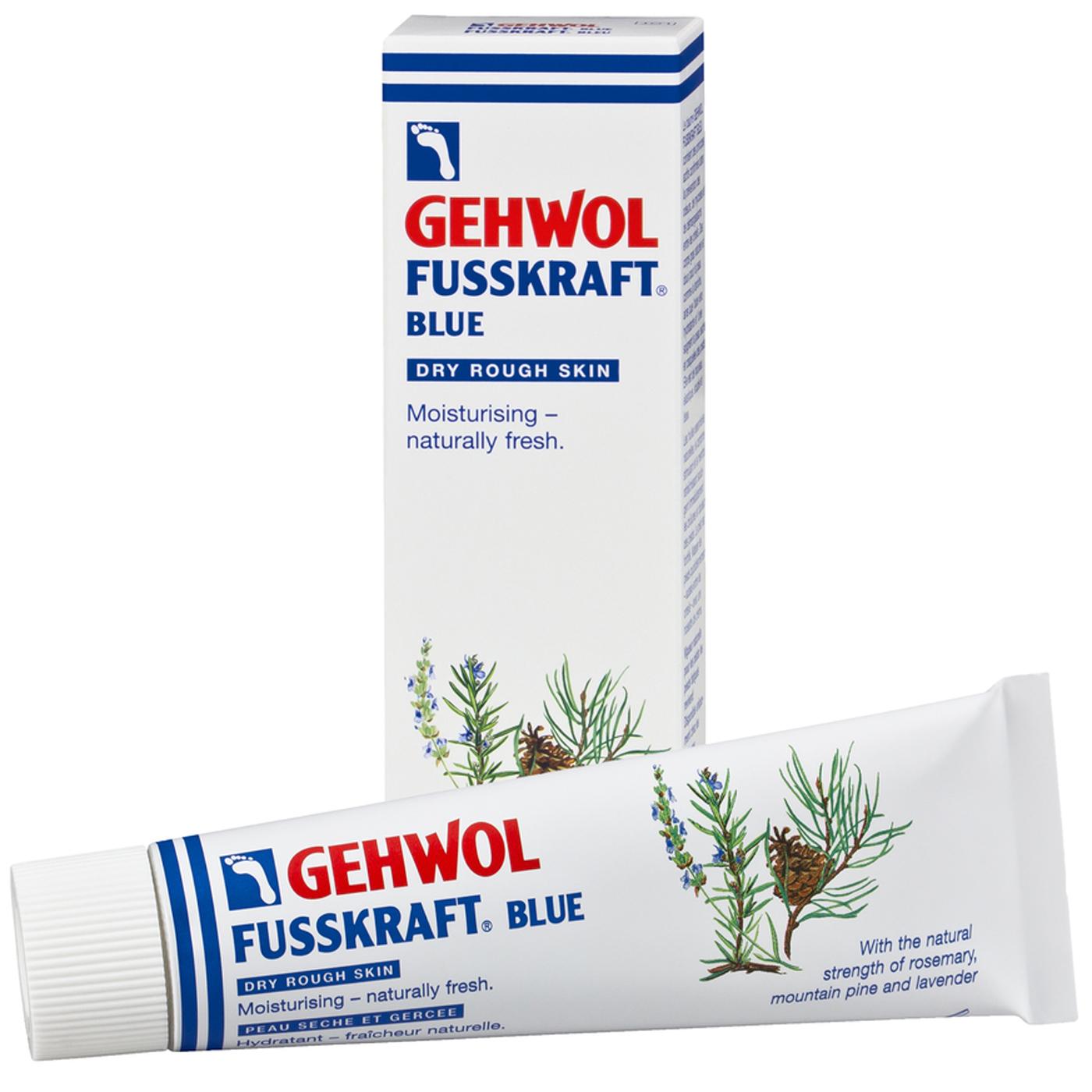 Gehwol Fusskraft Blue Κρέμα για την Καθημερινή Φροντίδα του Σκληρού, Ξηρού & Άγριου Δέρματος των Ποδιών 125ml