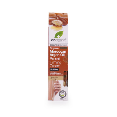Dr Organic Organic Moroccan Argan Oil Breast Firming Cream Κρέμα Σύσφιξης για το Στήθος 100ml