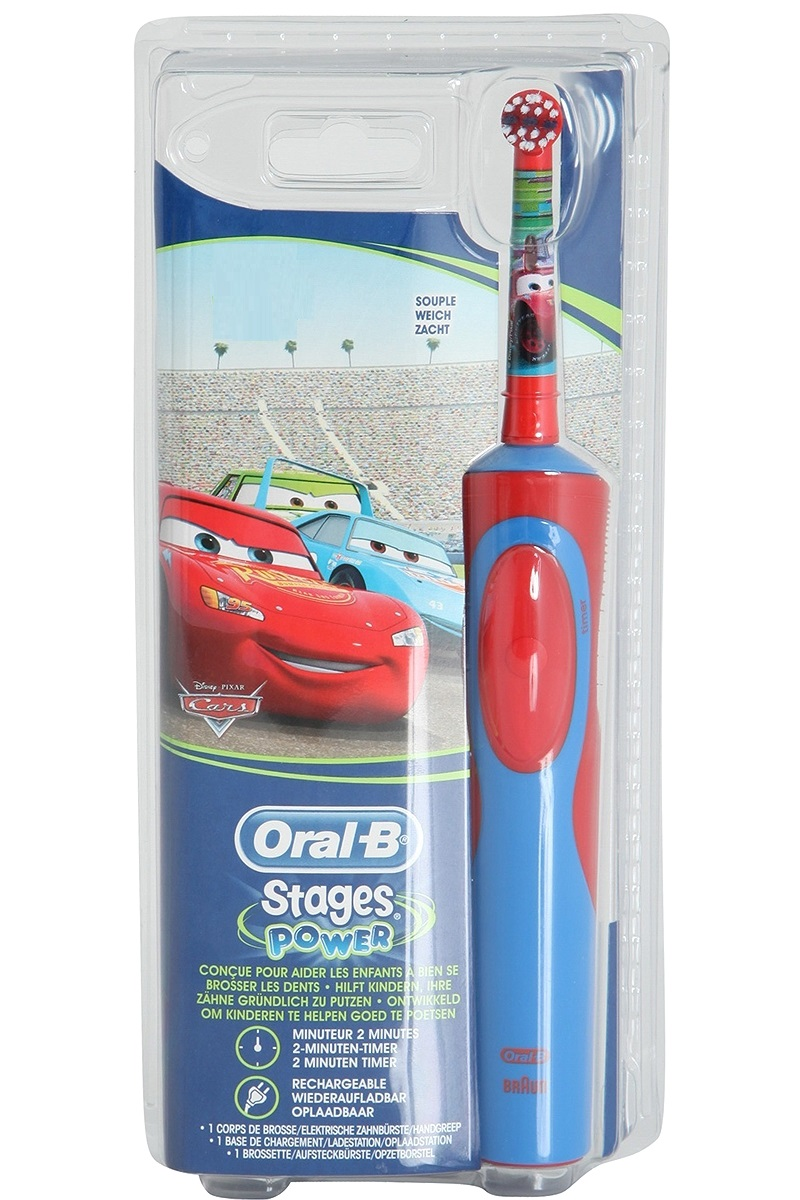 Oral-B Ηλεκτρική Οδοντόβουρτσα Oral B Vitality Stages Cars 3+ years